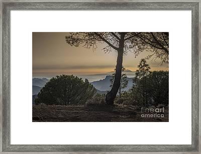 Degollada De Becerra 1 Framed Print by Michael David Murphy