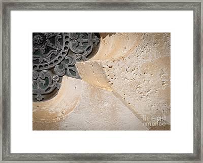 Degoyler Limestone Framed Print