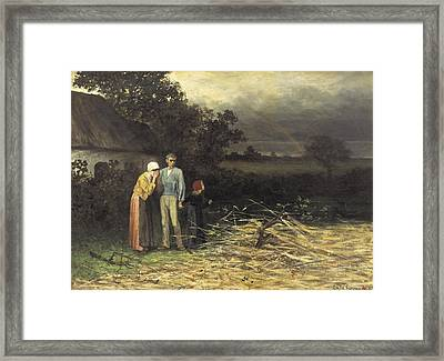 Degroux, Charles 1825-1870. The Lost Framed Print