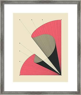 Deja Vu 1 Framed Print by Jazzberry Blue