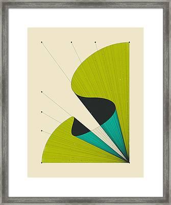 Deja Vu 2 Framed Print by Jazzberry Blue