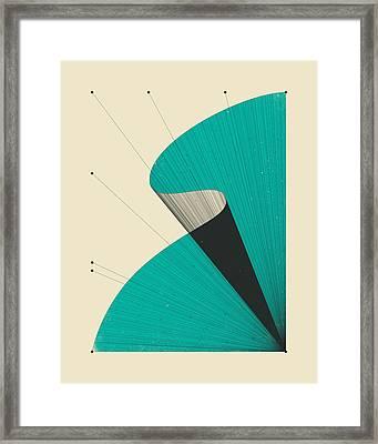 Deja Vu 4 Framed Print by Jazzberry Blue