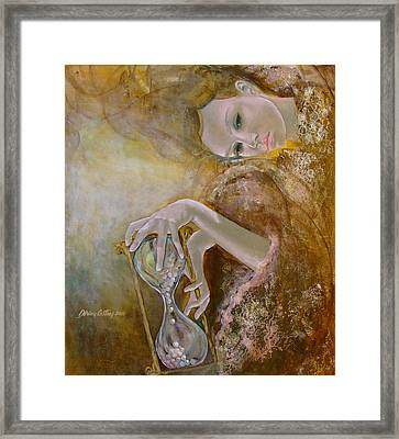 Deja Vu Framed Print by Dorina  Costras