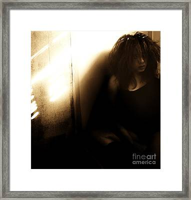 Dejection Framed Print