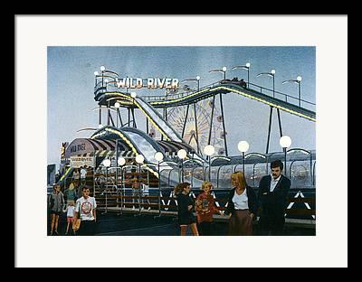 Amusements Paintings Framed Prints