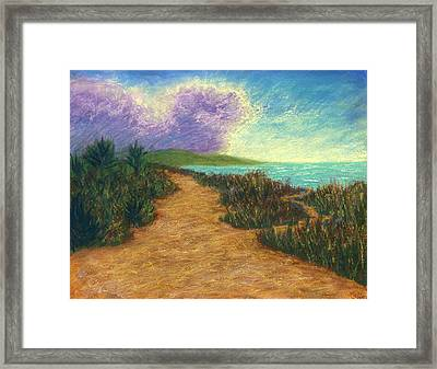 Del Mar Trails 02 Framed Print