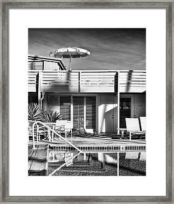 Del Marcos Palm Springs Framed Print by William Dey