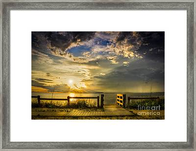 Del Sol Framed Print by Marvin Spates