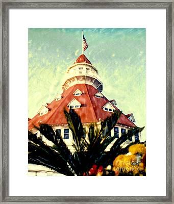 Del Tower Framed Print