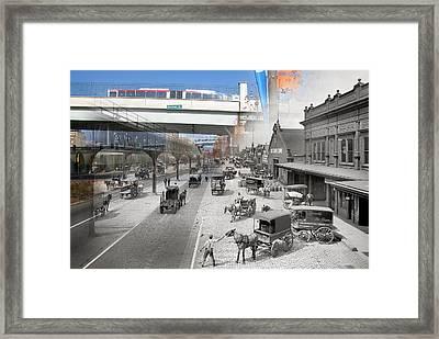 Delaware Avenue  Framed Print
