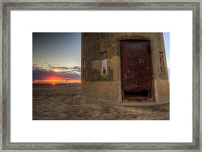 Delaware Lookout Tower Framed Print