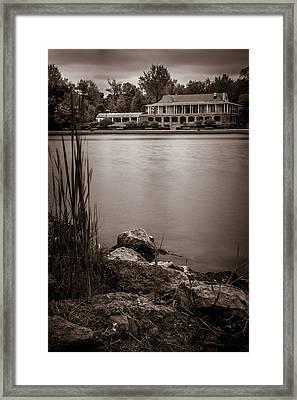 Delaware Park Marcy Casino Framed Print