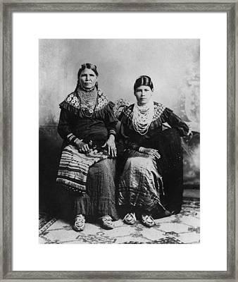 Delaware Women, C1915 Framed Print by Granger