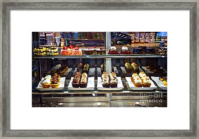 Delectable Desserts Framed Print
