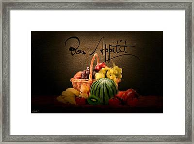 Delectable Sight Framed Print by Lourry Legarde