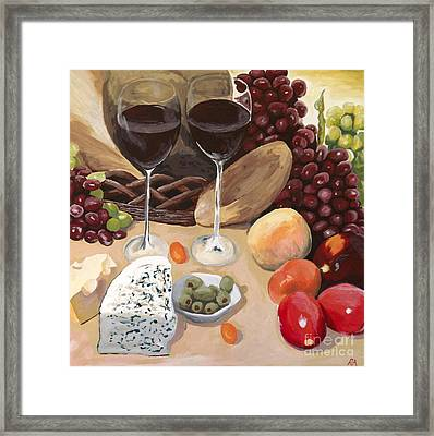 Delectible Framed Print by Robyn Allison