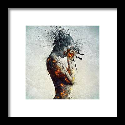 Surreal Framed Prints