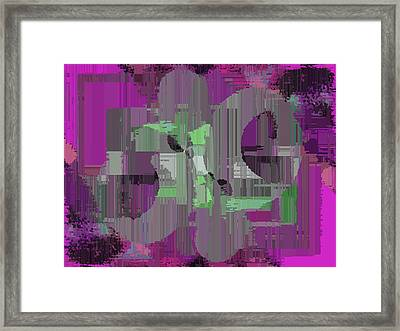 Deliberations Framed Print by Tim Allen