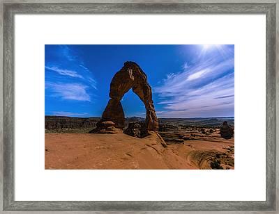 Delicate Arch Image 2 Framed Print by Jonathan Davison