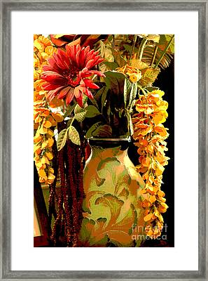 Framed Print featuring the photograph Delicate by Lori Mellen-Pagliaro