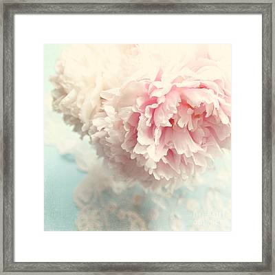 Delicate Framed Print by Sylvia Cook