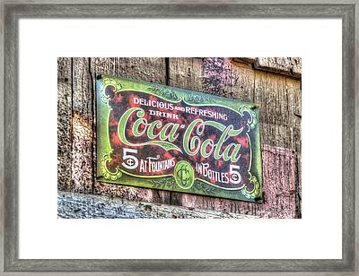 Delicious And Refreshing Framed Print