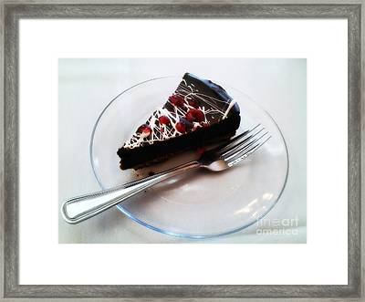 Delicious Framed Print by Angelia Hodges Clay
