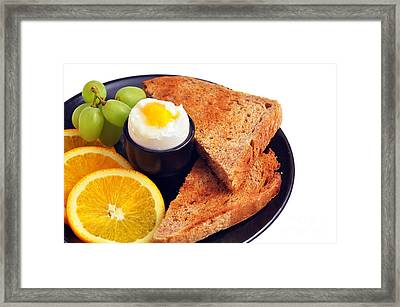 Delicious Healthy Breakfast Framed Print by Sylvie Bouchard