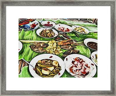 Deliciously Fresh Framed Print