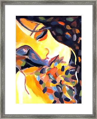 Framed Print featuring the painting Delight by Helena Wierzbicki