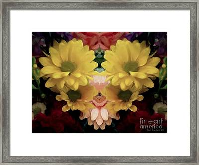 Framed Print featuring the photograph Delightful Bouquet by Luther Fine Art