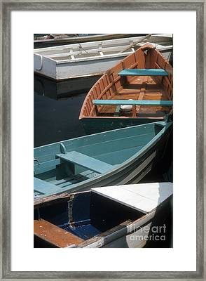 Framed Print featuring the photograph Delightful Dinghies by ELDavis Photography