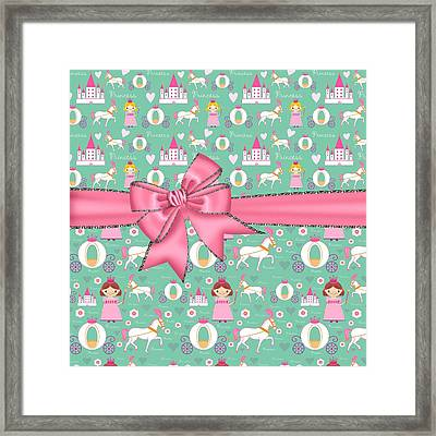 Delightful Princessess Framed Print by Debra  Miller