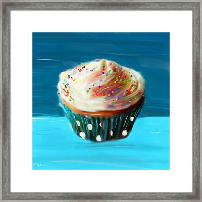 Delightful Sprinkles Framed Print by Lourry Legarde
