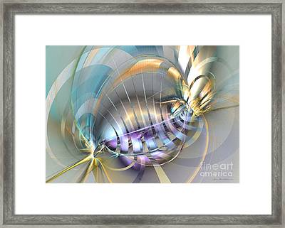 Delightful Tone - Surrealism Framed Print by Sipo Liimatainen