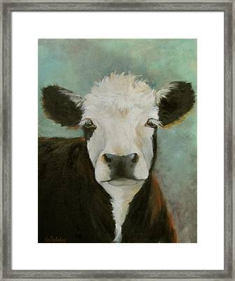 Framed Print featuring the painting Delilah by Cheri Wollenberg