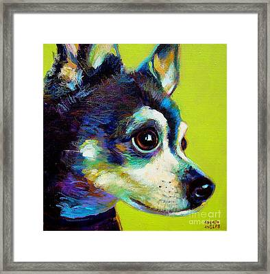 Framed Print featuring the painting Delilah by Robert Phelps