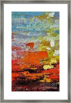 Delirium Framed Print by John Clark