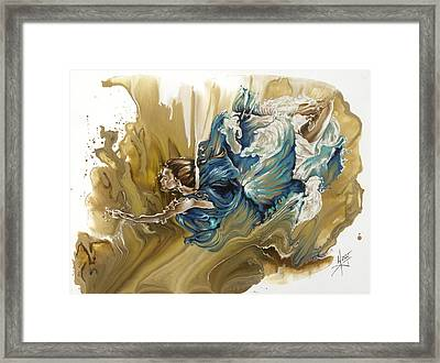 Deliver Framed Print by Karina Llergo