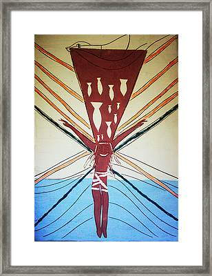 Deliverance Framed Print by Gloria Ssali