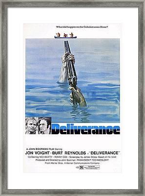 Deliverance Framed Print by Movie Poster Prints