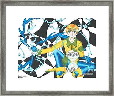 Dell Framed Print by Valerie Bessette