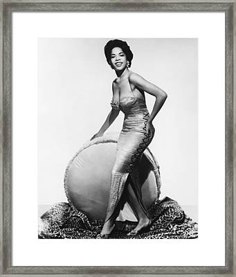 Della Reese Framed Print by Silver Screen