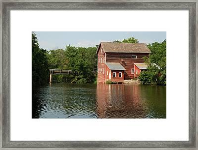 Dells Millpond No.4 Framed Print