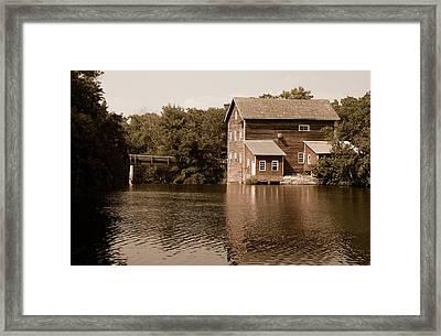 Dells Millpond No.5 Framed Print