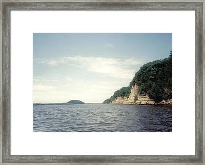 Dells Of Wisconsin Framed Print by Dusty Reed