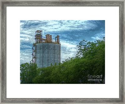 Delray Tower Framed Print
