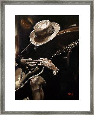 Delta Blues Framed Print