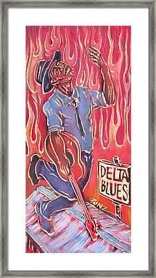 Delta Blues Framed Print