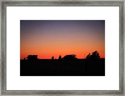 Delta Daze Framed Print